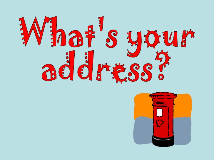 Your address